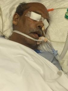 Haridas in hospital
